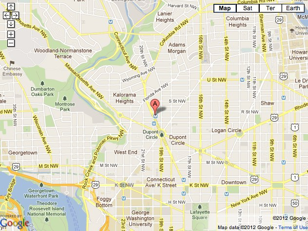 Dupont Map Dupont Circle Studio