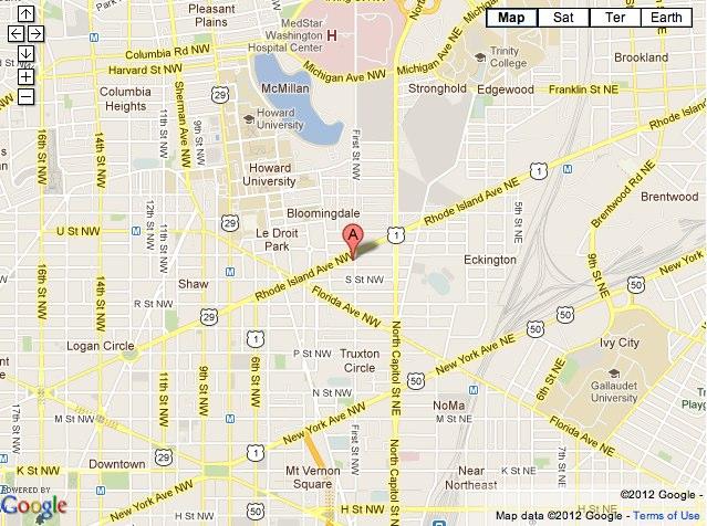 H St Map 1 Bloomingdale Studio