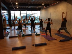Community Fitness Yoga Class